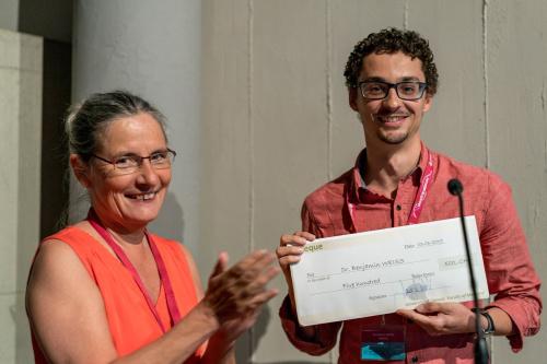 Best thesis winner(s) (Prix de la meilleure thèse du programme Biologie-Médecine)